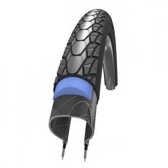 "Покрышка для инвалидной коляски Schwalbe Marathon Plus Evo (24""х1"")"