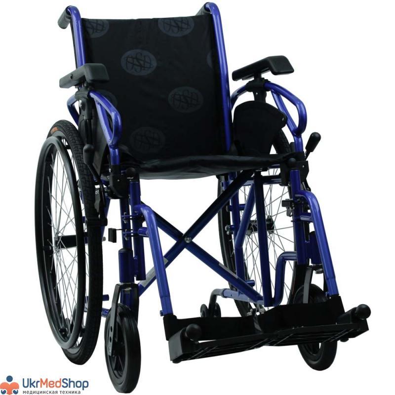 Инвалидная коляска «MILLENIUM IV» (синяя), OSD-STB4-**