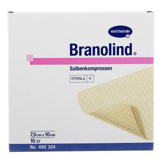 Повязка ранозаживляющая Branolind 7,5х10 см
