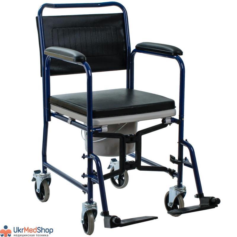 Кресло-коляска с санитарным оснащением OSD-YU-JBS367A