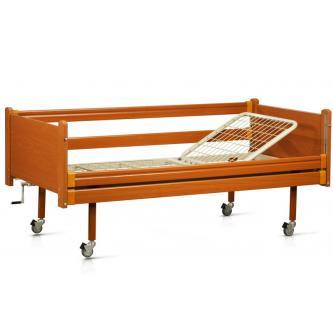 Кровать медицинская деревянная функциональная двухсекционная OSD 93