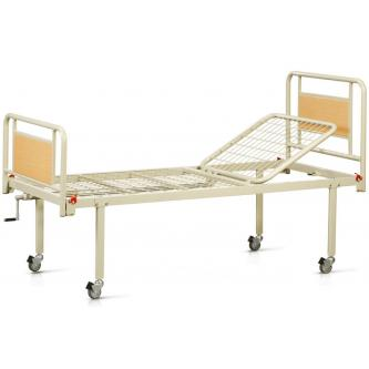 Двухсекционная медицинская кровать на колесах OSD 93V+90V