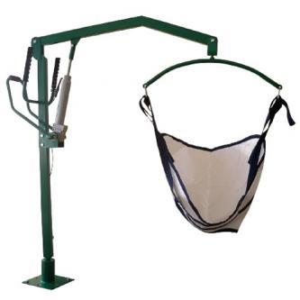 Подъемник для инвалидов с ручным приводом ПГР-150 РС, Шанс