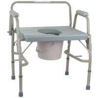 Усиленный стул-туалет с откидными подлокотниками OSD-BL740101
