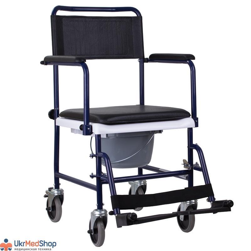 Кресло-каталка с туалетным оснащением OSD-MOD-JBS367A